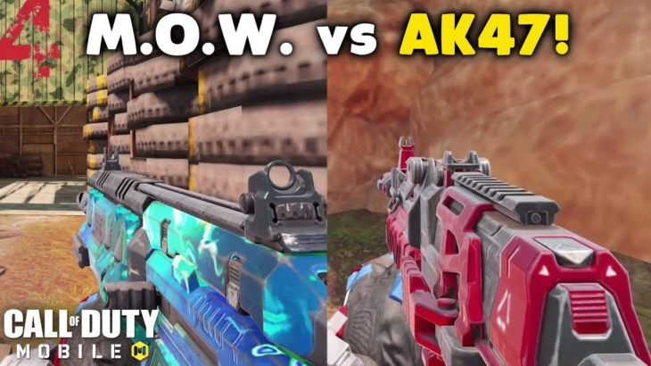 MAN-O-WAR vs AK47 – Which is Better? | Call of Duty: Mobile Versus #2