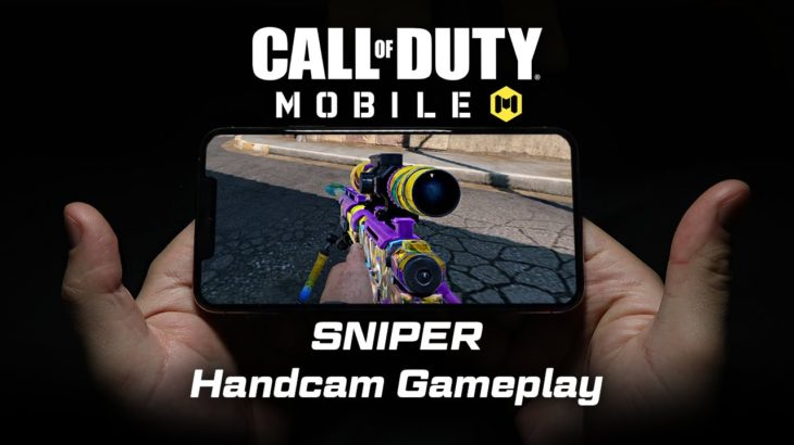 Call of Duty Mobile Sniper Handcam + Settings!