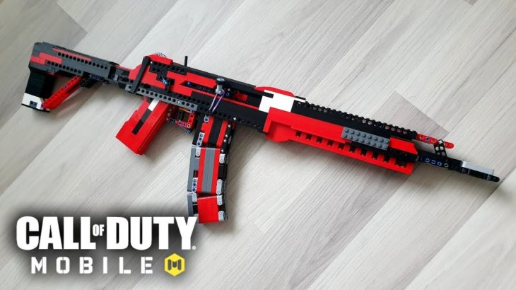 LEGO Full-Auto AK117 [Blowback Rubber Band Gun] – Call of Duty Mobile