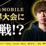 【CoD:Mobile】世界大会に挑戦!?チーム戦頑張るよ!!